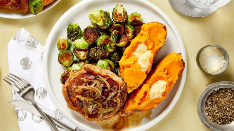 Autumn-Spiced Pork Chops