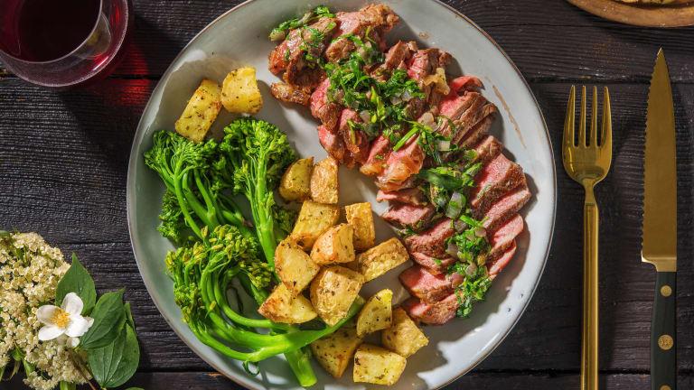Matured Sirloin Steak & Béarnaise Butter