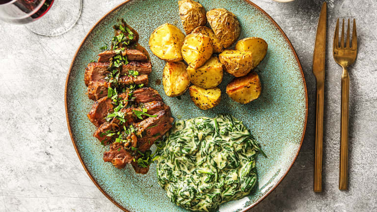 Balsamic-Glazed Strip Steak