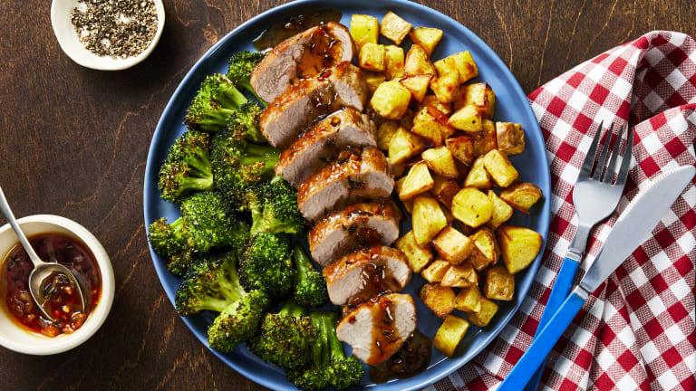 Honey-Thyme Pork Tenderloin