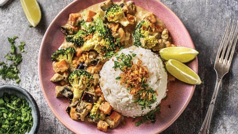 Eggplant & Kumara Thai Green Curry
