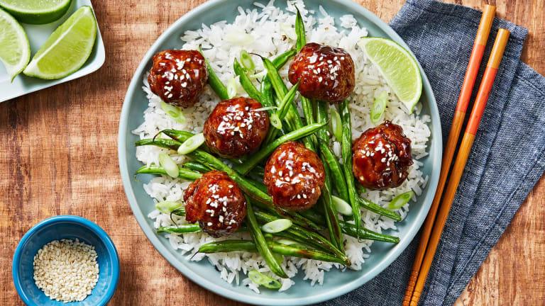 Hoisin-Glazed Meatballs
