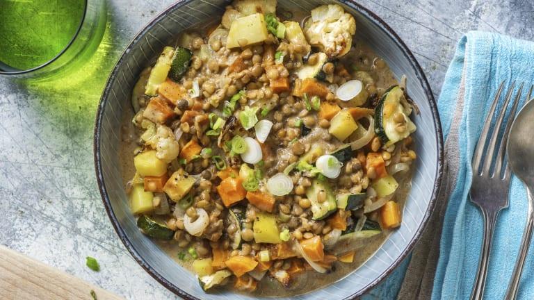 Vegetarisches Massaman-Curry