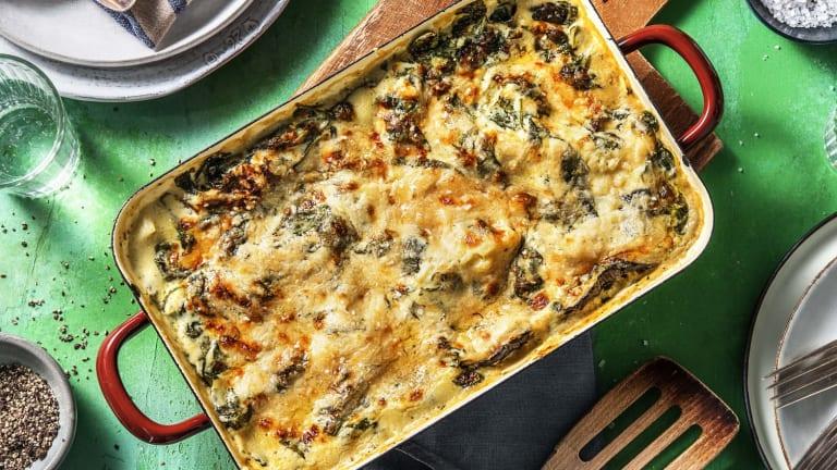 Lasagne fondante de légumes