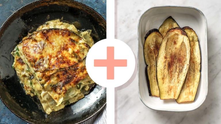 Lasagnes fondantes de légumes