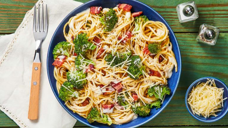 Bacon & Cream Supreme Spaghetti