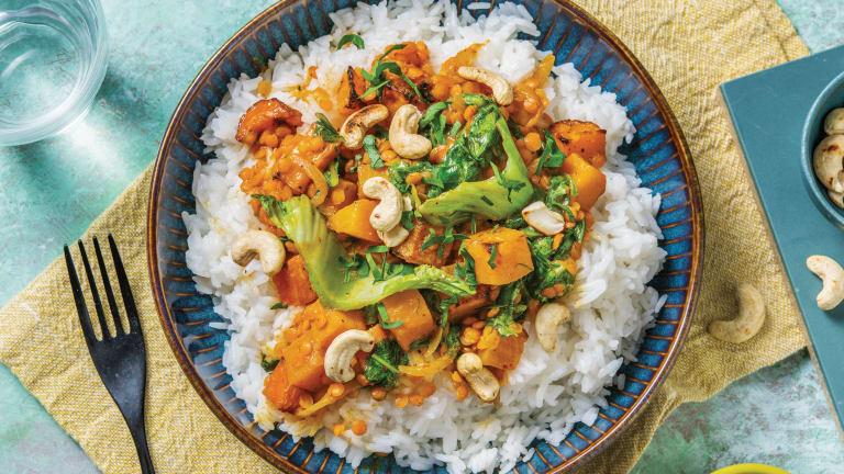Thai Pumpkin & Lentil Red Curry