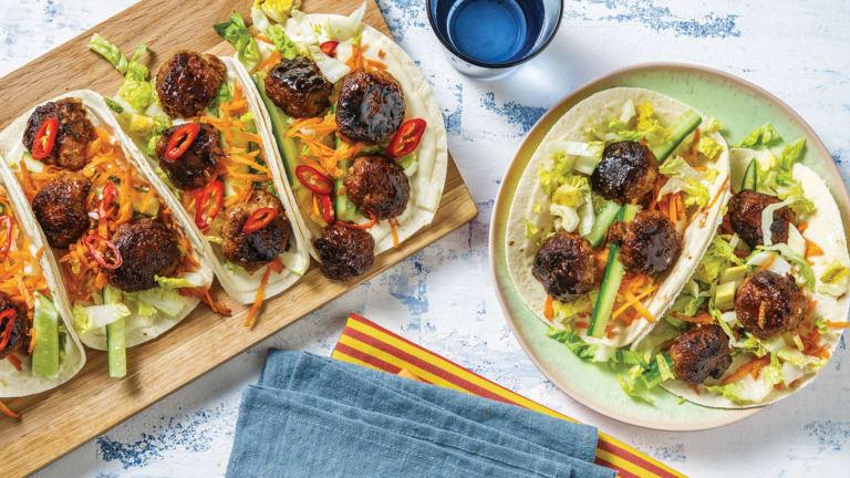 Vietnamese Pork Tacos