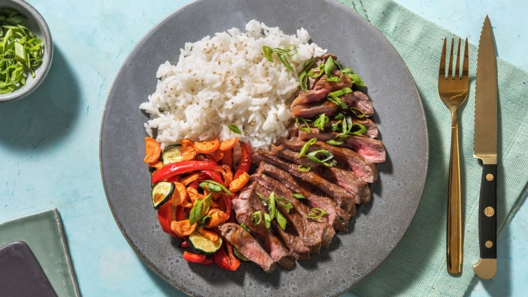 Simmentaler Steak mit Bulgogisoße