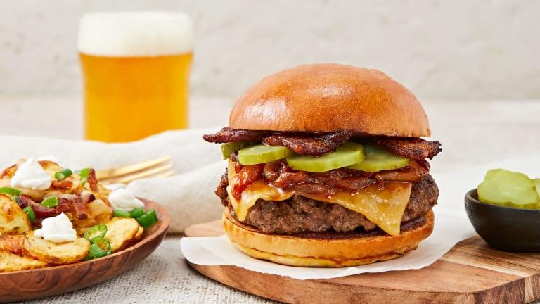 Bacon Buckaroo Burgers