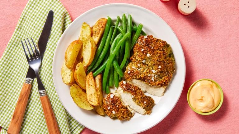 Monterey Jack Un-Fried Chicken