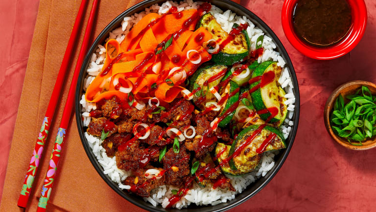 Beef & Veggie Bibimbap