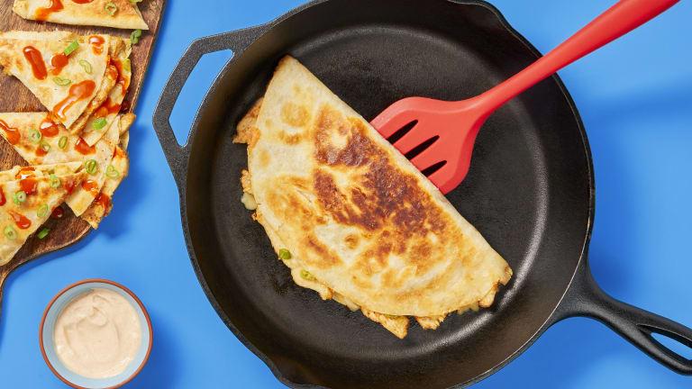 Easy Bein' Cheesy Chicken Quesadillas