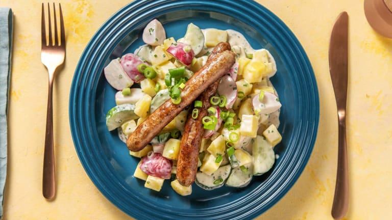 Italico-Würstchen mit Kartoffelsalat
