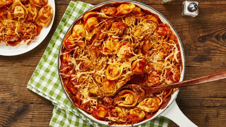 One-Pan Trattoria Tortelloni Bake