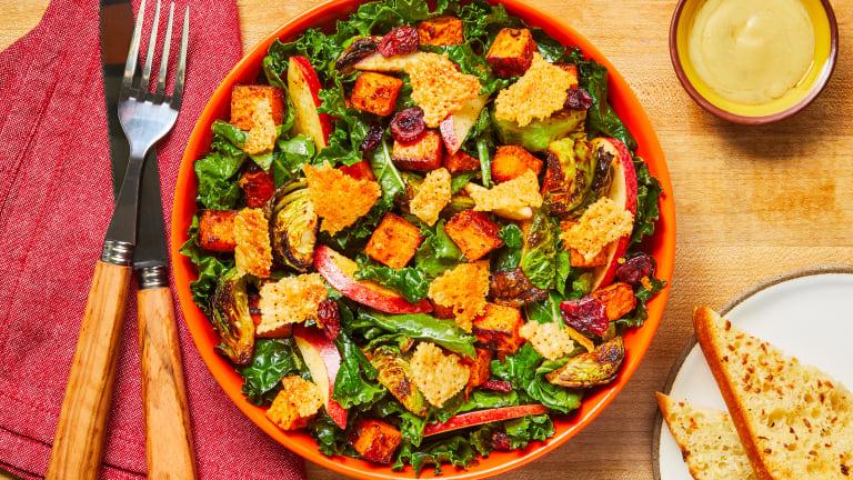 Cranberry-Apple Kale Salad