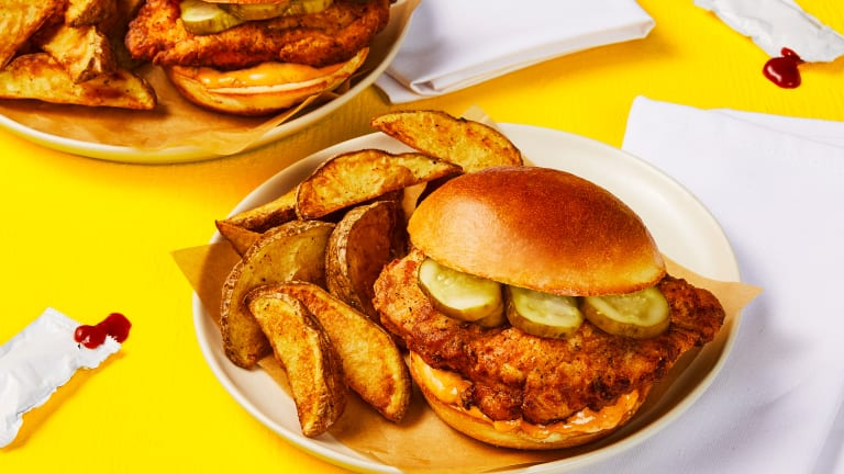 Crispy Cajun Chicken Sandwiches
