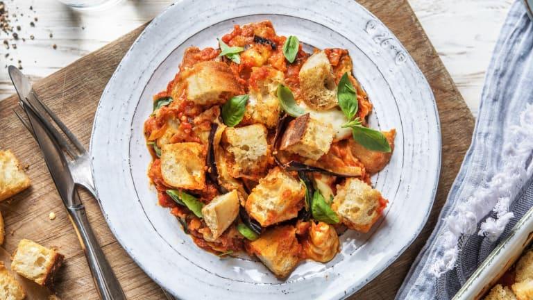Gratin d'aubergine à l'italienne à la sauce tomate