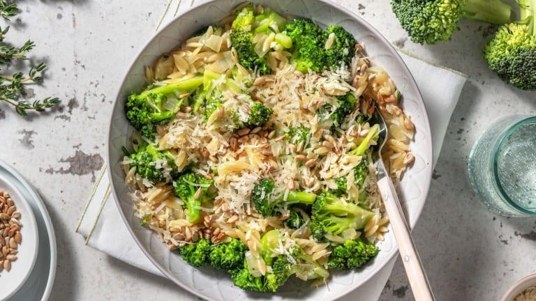 Orzo au brocoli et pecorino