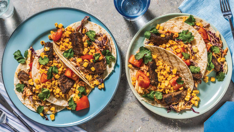 All-American Spiced Beef Tacos