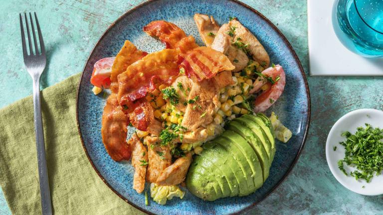 American Salad! mit Poulet und Speck