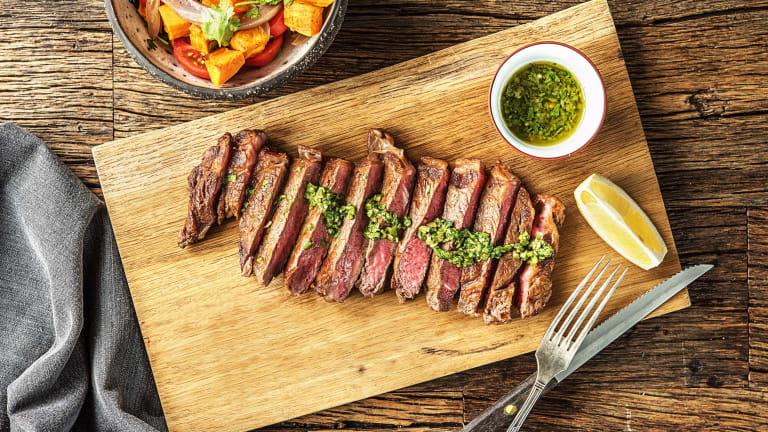 Argentine Chimichurri Steak