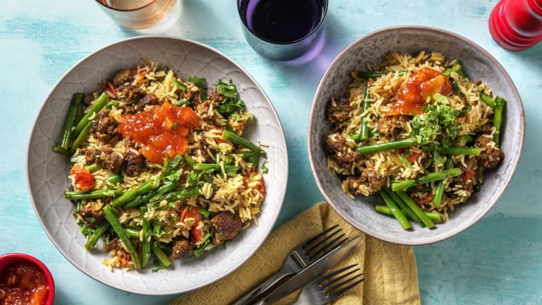 Aromatic Beef Pilaf