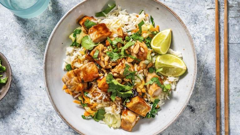 Asiatisk inspireret wok