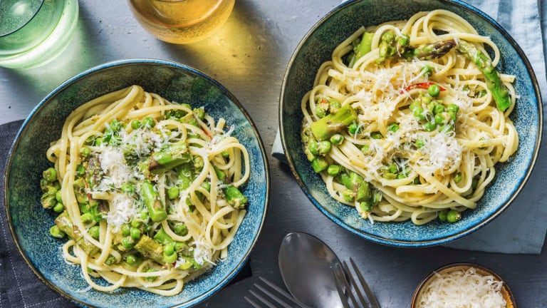 Asparagus and Lemon Linguine