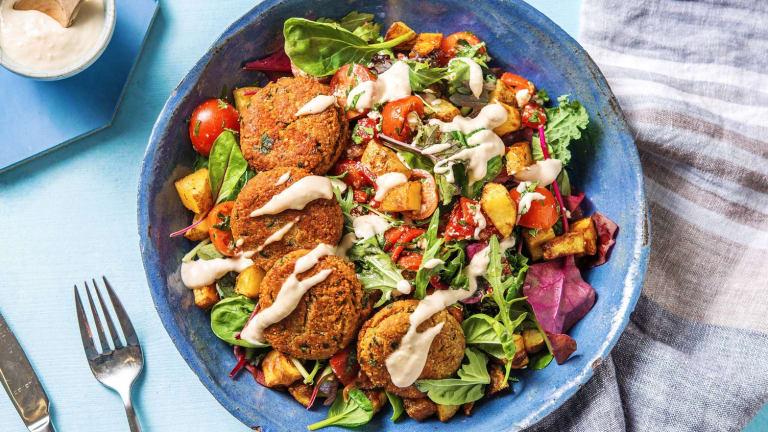 Assiette de falafels