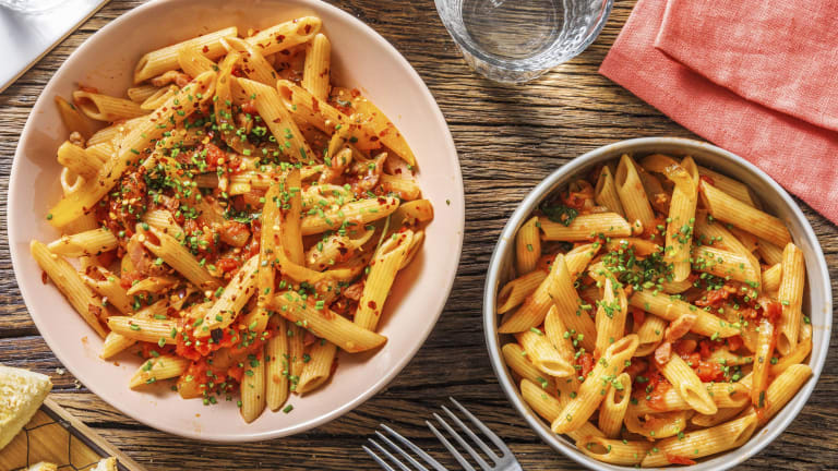 Bacon Penne all'Arrabbiata