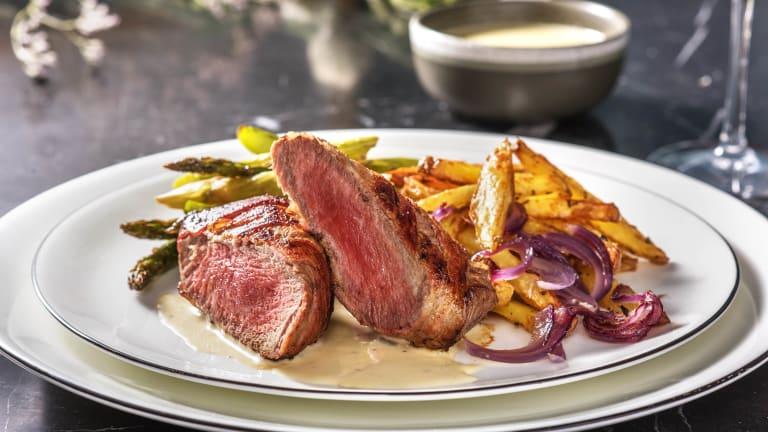 Bacon Wrapped Fillet Steak