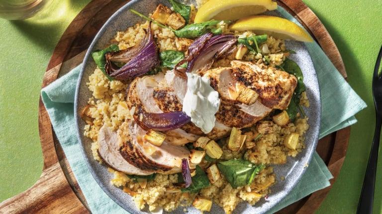Baked Chermoula Chicken