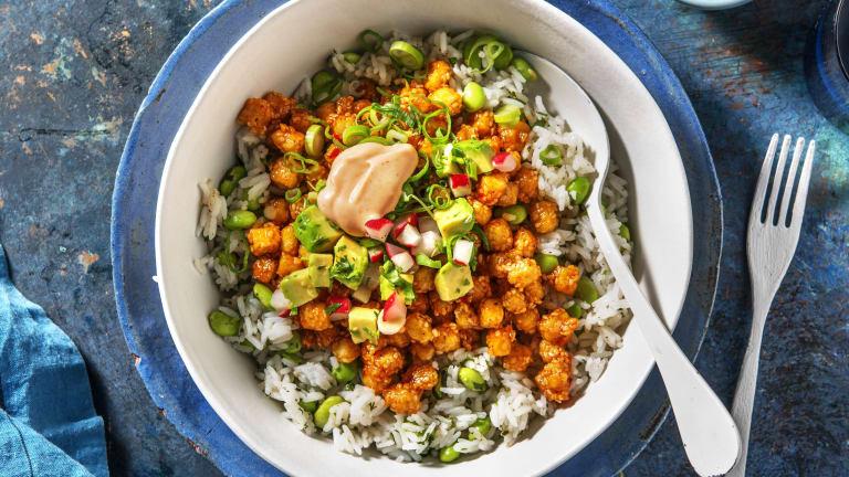 Bang Bang Tofu Bowl