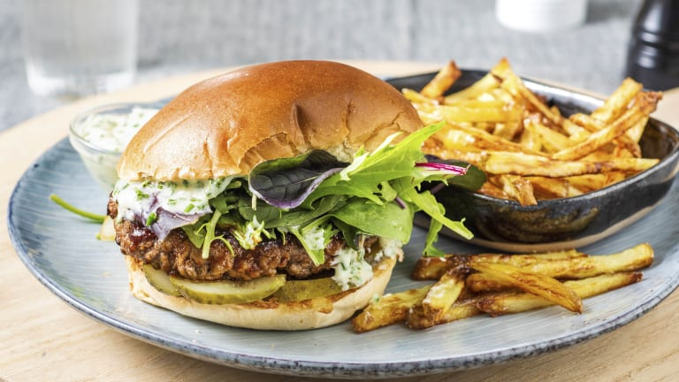 BBQ Ranch Beyond Meat® Burger