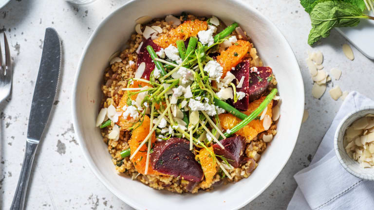 Beetroot, Green Bean & Orange Salad