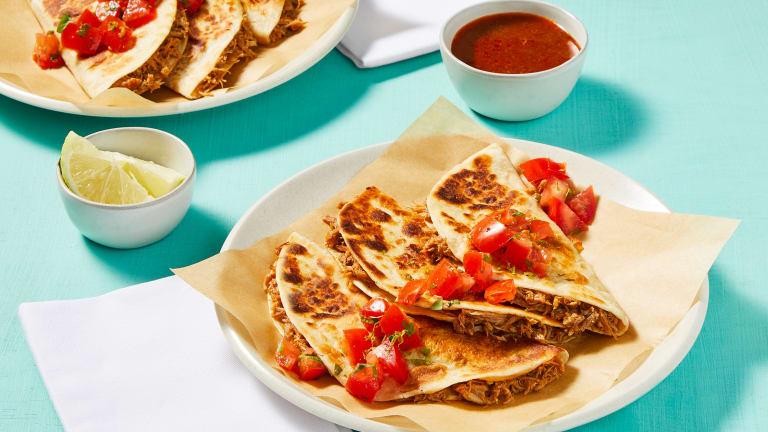 Birria Style Pork Tacos