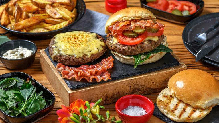 Herb Crusted Bison Burger