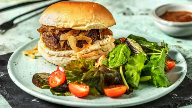 French Dip Burgers