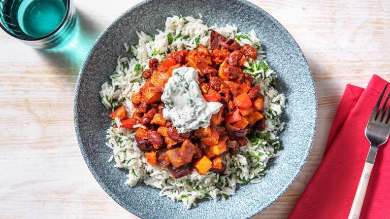 Cajun Spiced Roasted Vegetable Stew
