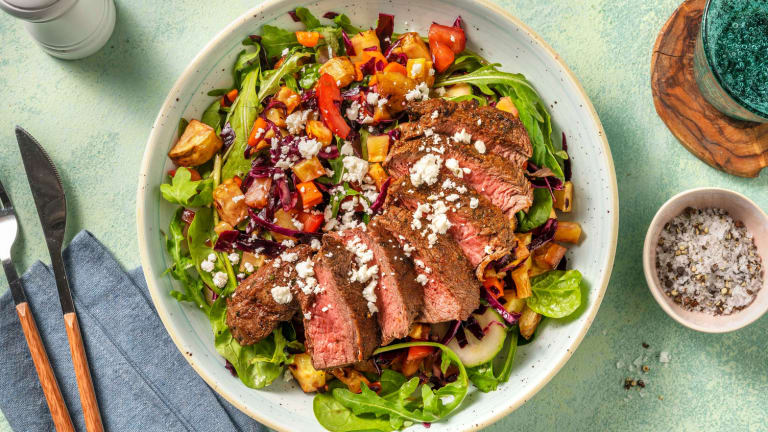 Cal Smart Rainbow Steak Bowls