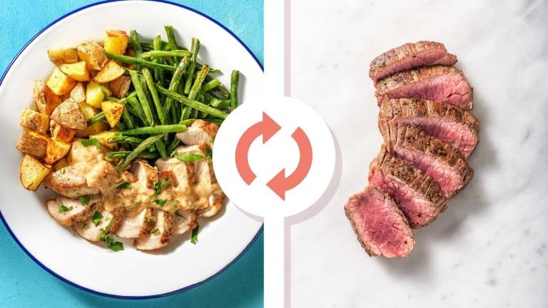Cal Smart Spiced Steak