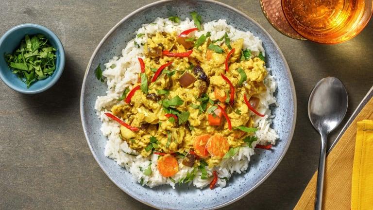 Spicy Barramundi Curry
