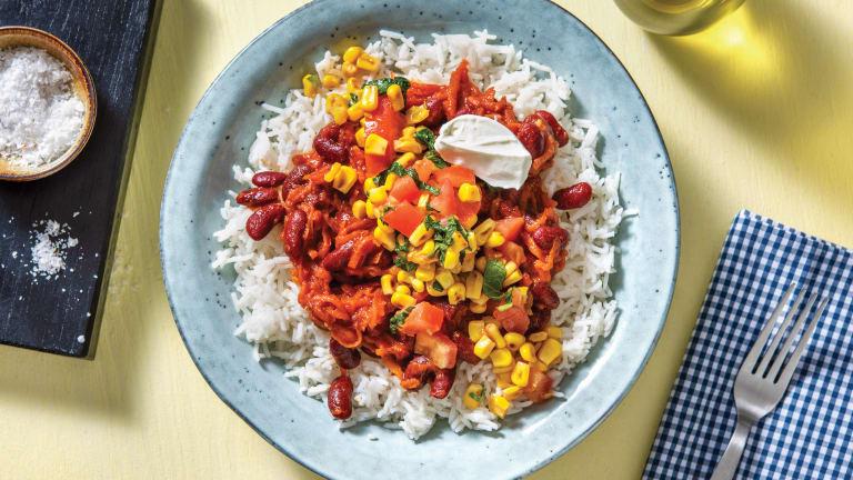 Caribbean-Style Bean Chilli
