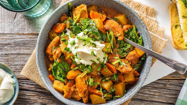 Caribbean Style Chicken Stew