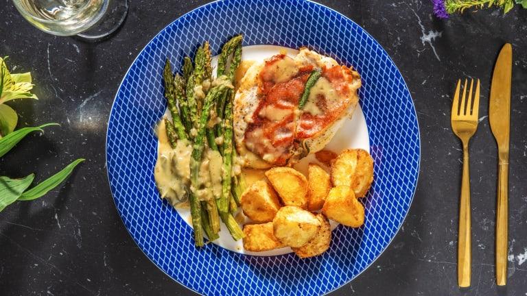 Carluccio's Style Chicken Saltimbocca