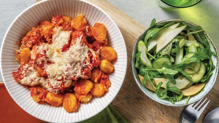 Veggie-Loaded Grilled Gnocchi