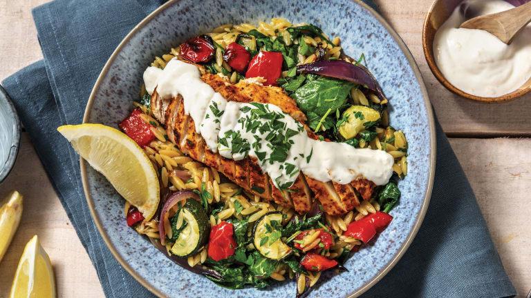 Chermoula Chicken & Veggie Risoni