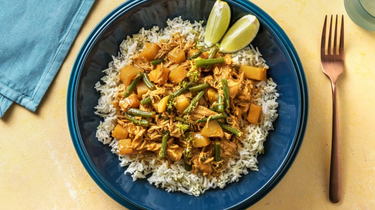 Fragrant Chicken Massaman Curry