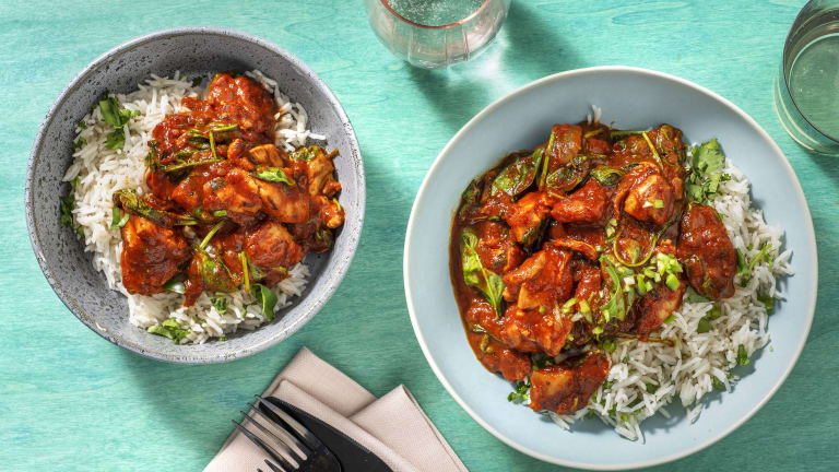 Chicken and Spinach Curry